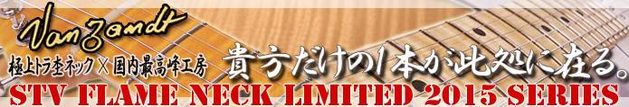 Vanzandt STV Flame Neck Limited Series