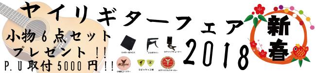 新春!!ヤイリギターフェア2018