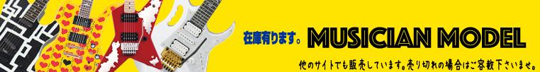 ミュージシャンモデル大特集!【ギター】★