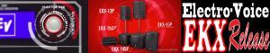 Electro-Voice EKXシリーズ ご試聴いただけます!
