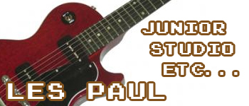 Les Paul & SG Faded、Tribute、Spacial ETC…