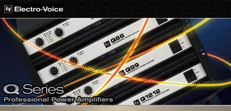 Qシリーズ Powerd Amp