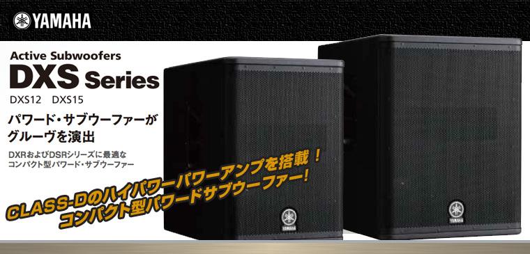 DXSシリーズ[ Powerd Subwoofer ]