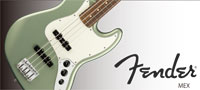 Fender Made in MEXICO