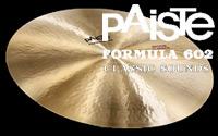 FORMULA 602 CLASSIC SOUNDS(PAISTE)