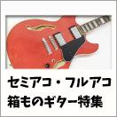 箱ものギター特集