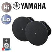 YAMAHA ( ヤマハ ) VXC6 黒 (ペア)  ◆  天井埋込型スピーカーシステム・シーリング型