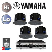 YAMAHA ( ヤマハ ) VXC6 ブラック (2ペア) 天井埋込セット(MA2030a)