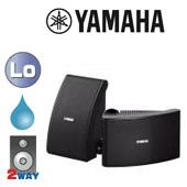 YAMAHA ( ヤマハ ) NS-AW392B ブラック (ペア)  ◆ フルレンジスピーカー・ 防水 全天候型 ■ 天井/壁面 取り付け型