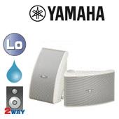 YAMAHA ( ヤマハ ) NS-AW392W ホワイト (ペア)  ◆ フルレンジスピーカー・ 防水 全天候型 ■ 天井/壁面 取り付け型