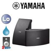 YAMAHA ( ヤマハ ) NS-AW592B ブラック (ペア)  ◆ フルレンジスピーカー・ 防水 全天候型 ■ 天井/壁面 取り付け型