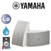 YAMAHA ( ヤマハ ) NS-AW592W ホワイト (ペア)  ◆ フルレンジスピーカー・ 防水 全天候型 ■ 天井/壁面 取り付け型