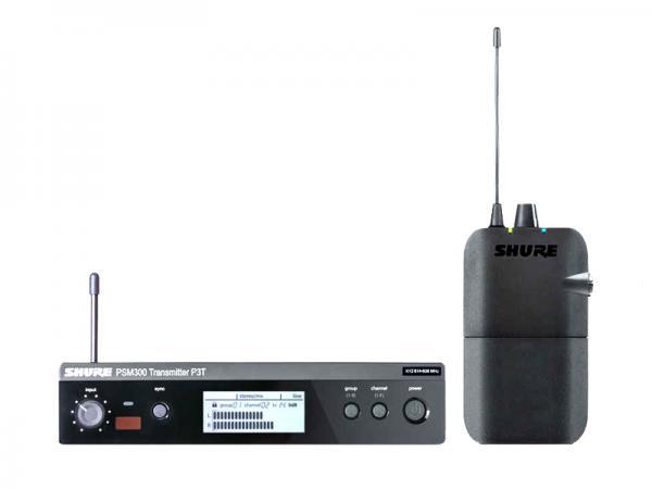 SHURE ( シュア ) P3TJR-JB ◆ PSM300 ステレオパーソナルモニターシステム イヤホンなし