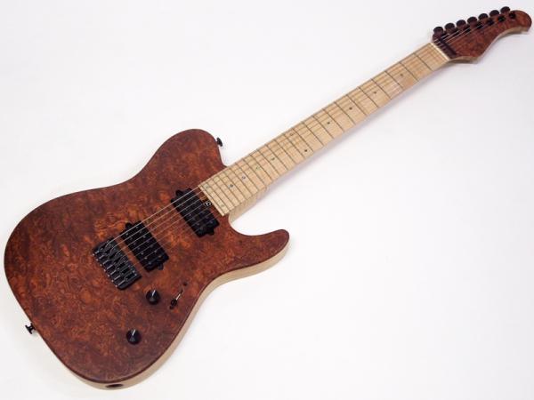 Bacchus ( バッカス ) T7-CUSTOM (BG/M NA-MAT)【国産7弦 エレキギター オーダー品 】