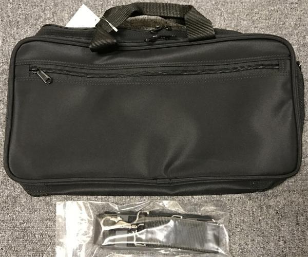 クラリネットケース B♭ クラリネット ケースカバー ブラック ハードケース用 ケース 管楽器 ショルダー Bb Clarinet Case 北海道 沖縄 離島不可
