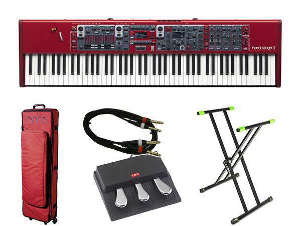 CLAVIA Nord Stage 3 88 ライブセット 1