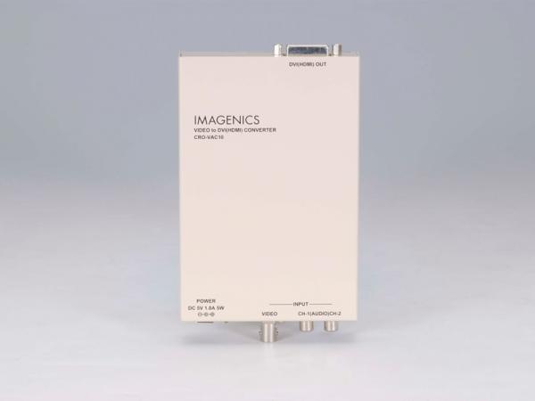 IMAGENICS ( イメージニクス ) CRO-VAC10 ◆ ビデオ入力DVI(HDMI)出力変換器