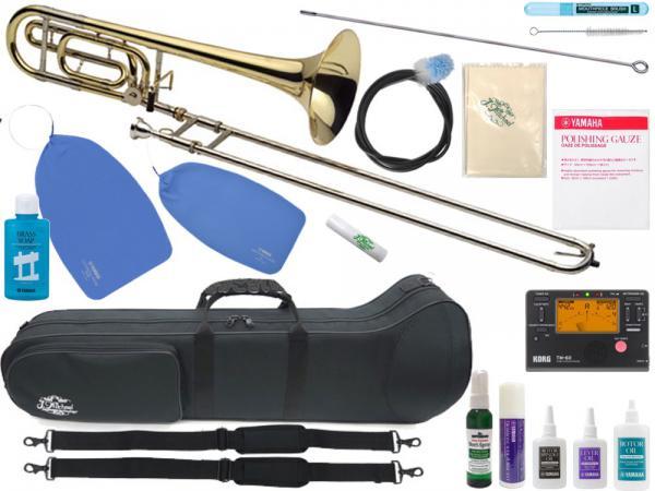 J Michael ( Jマイケル ) TB-650L トロンボーン 新品 太管 テナーバストロンボーン 管楽器 B♭/F Tenor bass trombone セット B 北海道 沖縄 離島不可