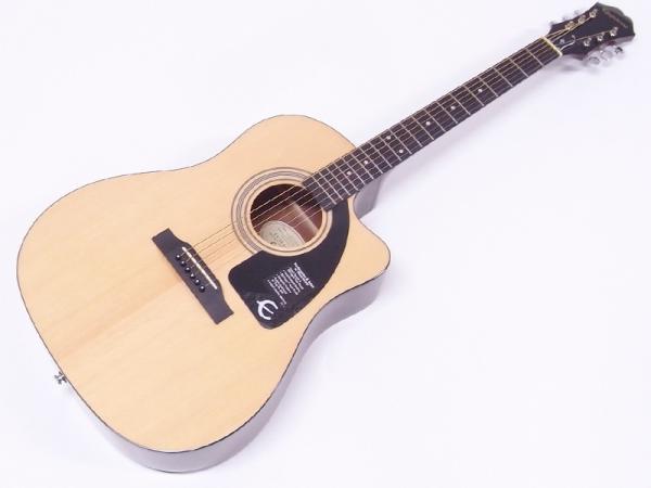 Epiphone ( エピフォン ) AJ-100ce (Nat) AGスタートパック10点セット【初心者 入門 アコースティックギター セット】