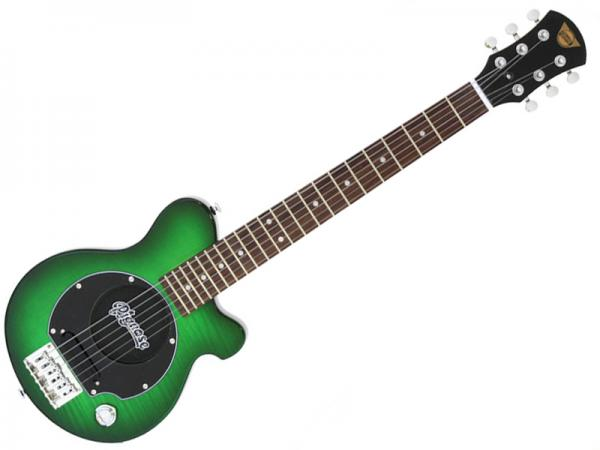 Pignose ( ピグノーズ ) PGG-200FM SGR【アンプ内蔵 エレキギター ミニギター 】