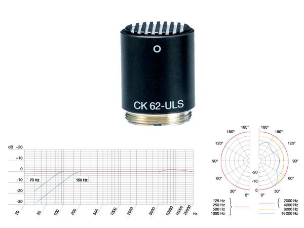 AKG ( エーケージー ) CK62-ULS ◆ コンデンサーマイク用カプセル
