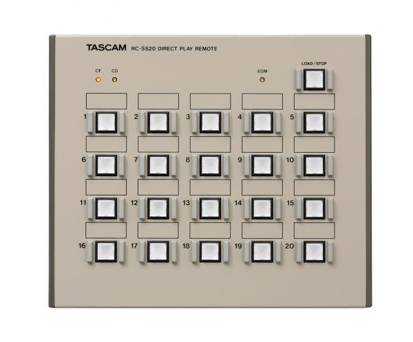 TASCAM ( タスカム ) RC-SS20 ◆ TASCAM業務用プレーヤー対応コントローラー ・ポン出し