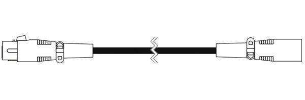 CANARE ( カナレ ) EC07 黒 ◆ 音声 マイクケーブル ・7m  XLR3(メス)・XLR3(オス)
