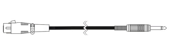 CANARE ( カナレ ) PC07 黒 ◆ 音声 マイクケーブル ・7m  XLR3(メス)・モノラルフォン(オス)