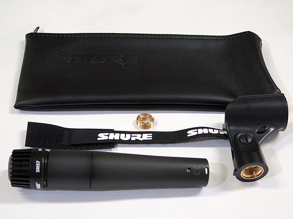 SHURE ( シュア ) SM57-LCE ◆ ダイナミックマイク カーディオイド