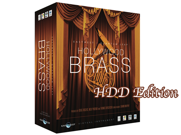 EASTWEST ( イーストウエスト ) HOLLYWOOD BRASS Diamond Edition HDD/ Win版