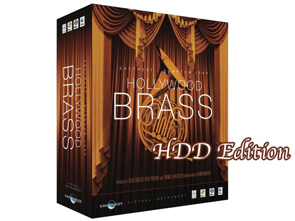 EASTWEST ( イーストウエスト ) HOLLYWOOD BRASS Diamond Edition HDD/ Mac版