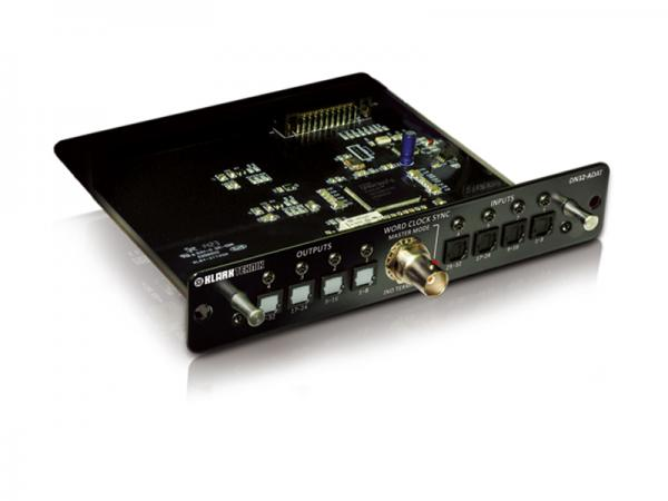 KLARK TEKNIK ( クラークテクニック ) DN32-ADAT  ◆  最大32レコード/プレイバック・チャンネルの能力を持つ、ADAT拡張モジュール