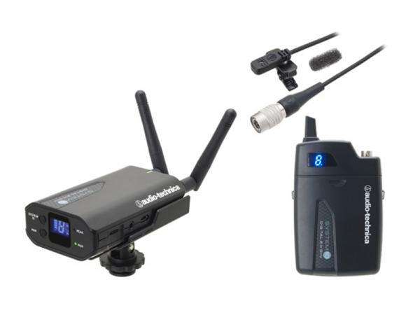 audio-technica ( オーディオテクニカ ) ATW-1701/L ◆ 2ピーストランスミッター ラベリアマイクロホンカメラマウント ワイヤレスマイクシステム