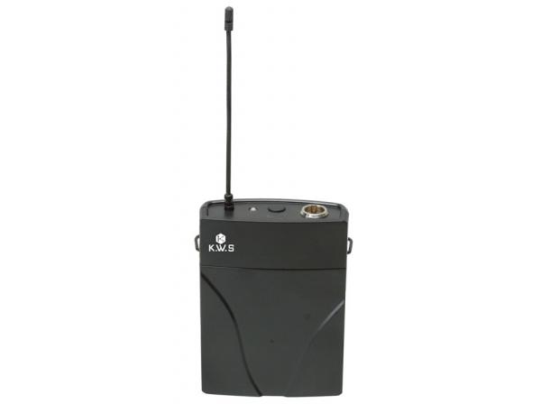 K.W.S ( by キクタニミュージック ) KWS-TR ◆ KWS ワイヤレスシステム用ベルトパック送信機単体