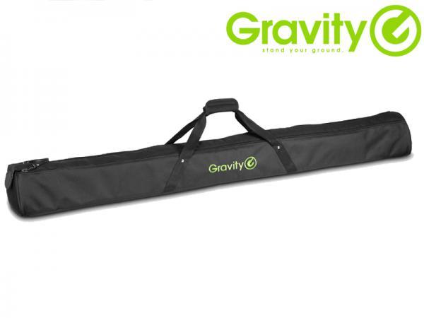 Gravity ( グラビティー ) GBGSS1XLB ◆ ロングタイプのスピーカースタンドが収納可能 スピーカースタンドバッグ (1本収納可能)