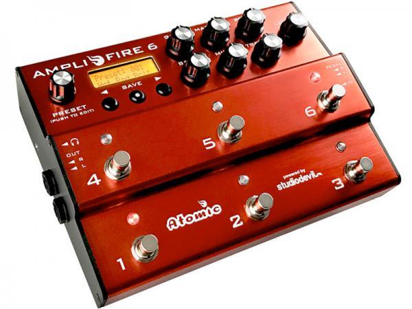 Atomic AmpliFire 6【アンプシミュレーター   】