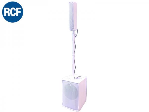RCF ( アールシーエフ ) EVOX J8W /ホワイト (1台) ◆ ポータブルSRシステム PAセット EVOXJ8W