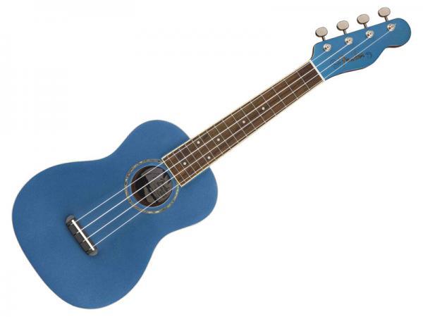 Fender ( フェンダー ) Zuma Concert Ukulele (Lake Placid Blue)【コンサート ウクレレ】