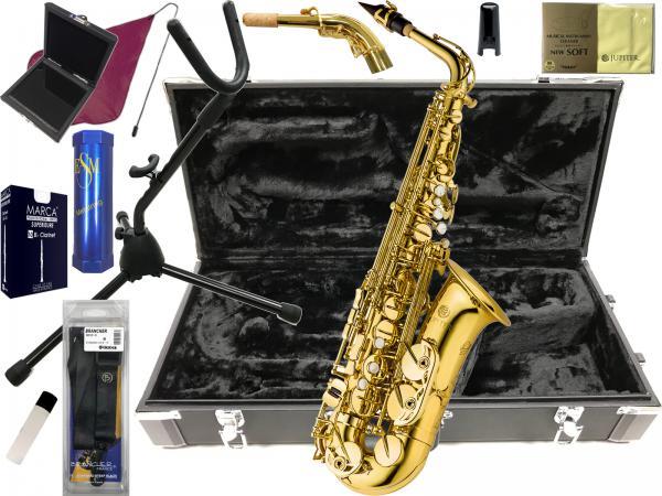 JUPITER  ( ジュピター ) JAS1065SF-GL アルトサックス 新品 セライバ フリーシステム 管楽器 管体 ゴールド AS-1065SF GL Saliva Free System alto saxophone
