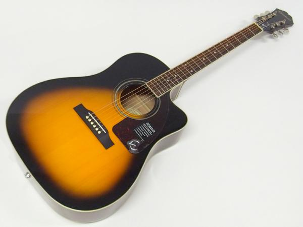 Epiphone ( エピフォン ) AJ-220SCE(VS) AGスタートパック10点セット【初心者 入門 アコースティックギター セット】