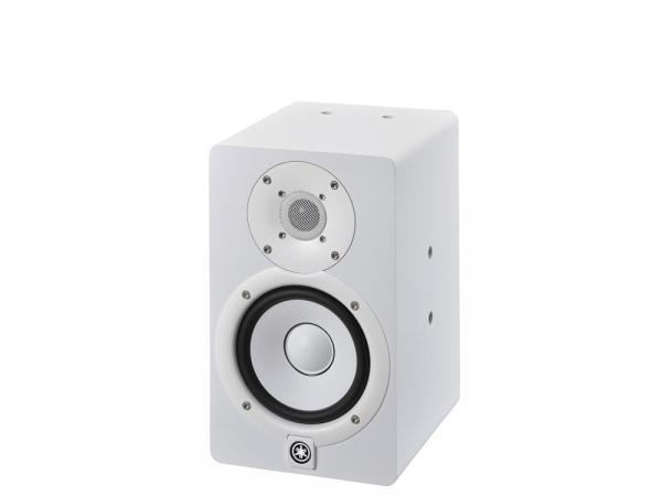 YAMAHA ( ヤマハ ) HS5IW   ホワイト(1本)◆ 壁や天井への取り付け対応モデル モニタースピーカー  ( パワード )