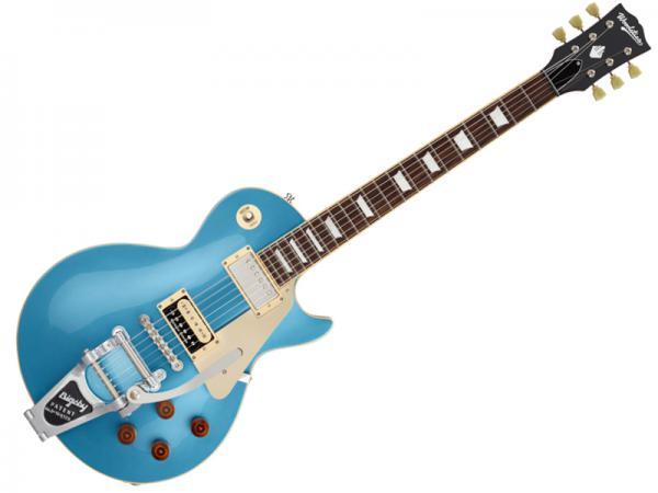 Woodstics Guitars ( ウッドスティック・ギターズ ) WS-LP-STD/B ( Pelham Blue )【横山健 プロデュース エレキギター 】