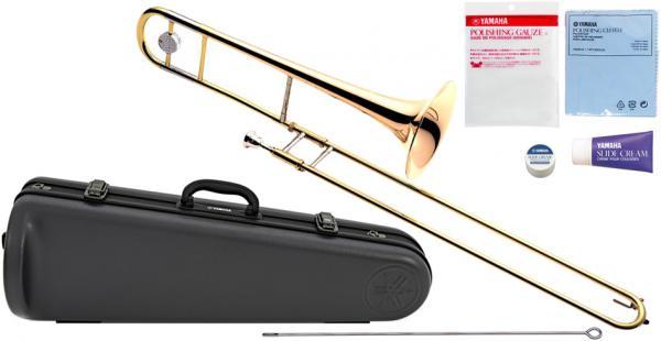 YAMAHA ( ヤマハ ) YSL-455G テナートロンボーン 新品 ゴールドブラスベル B♭管 デュアルボア トロンボーン スライド式 日本製 管楽器 Tenor Trombones YSL455G