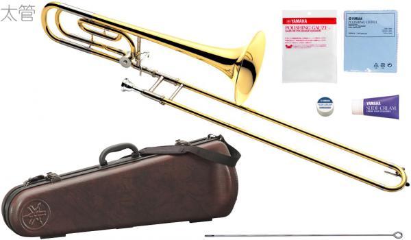 YAMAHA ( ヤマハ ) YSL-620 テナーバストロンボーン 太管 イエローブラスベル B♭/F トロンボーン 日本製 管楽器 Tenor Bass Trombones YSL-620-2 北海道 沖縄 離島不可