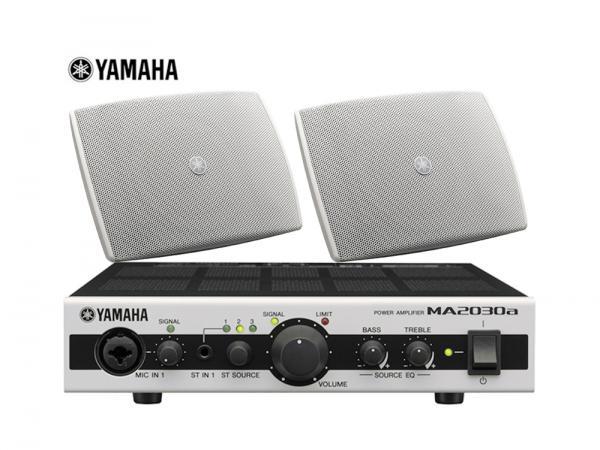YAMAHA ( ヤマハ ) VXS3FW ホワイト (1ペア) 天井吊り下げ/壁面取付 LOWセット(MA2030a)