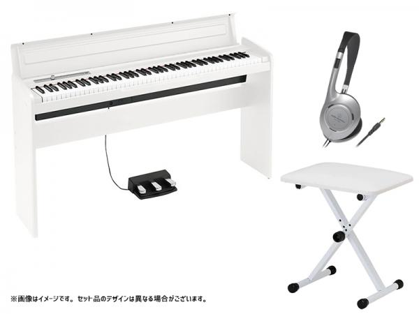 KORG ( コルグ ) LP-180 WH キーボードベンチセット
