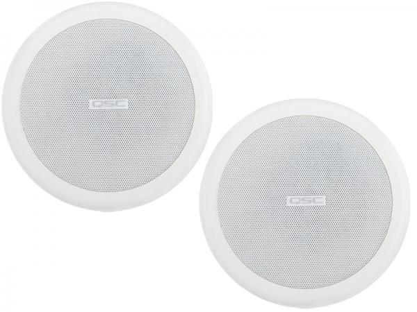 QSC ( キューエスシー ) AC-C4T  ホワイト  (ペア) ◆ 設備用天井埋め込み型 スピーカーシステム・シーリング型
