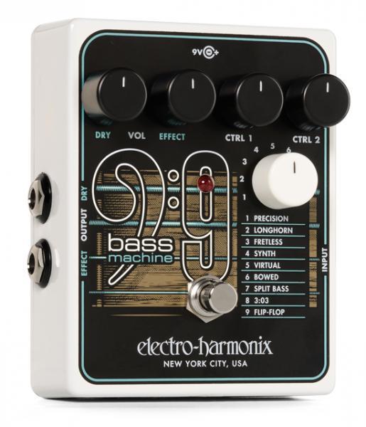 Electro Harmonix ( エレクトロハーモニクス ) Bass 9  Bass Machine【ギターサウンドを異なる9つのベースサウンドに】