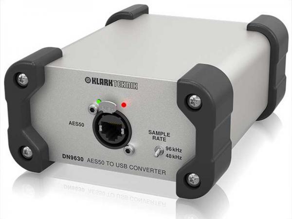 KLARK TEKNIK ( クラークテクニック ) DN9630  ◆  最大48 双方向チャンネル、AES50 - USB 2.0 コンバータ
