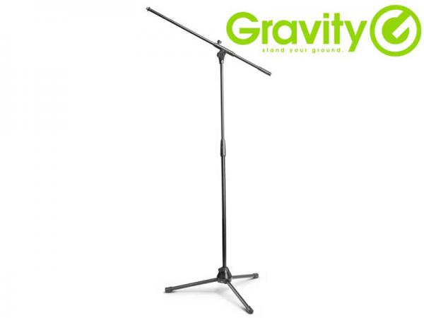 Gravity ( グラビティー ) GTMS4321B ◆ プロ仕様のツアースタンドとしても対応する 三脚タイプ ブームマイクスタンド